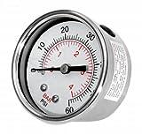 Gecko Alliance 830-4000SS-B Optional Pressure Gauge