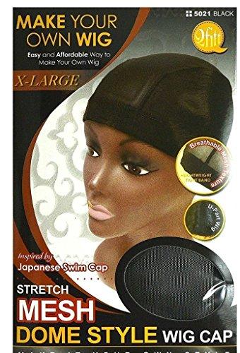 Headgear Mesh Cap - QFitt Mesh Dome Style Wig Cap X-Large #5021 (1pc)