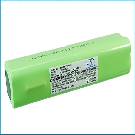 PW320 ALLFLEX CS-ARS320BL Batterie 700mAh Compatible avec RS320 remplace 51FE0421