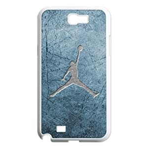 Samsung Galaxy Note 2 N7100 phone cases White Jordanlogo AH439222