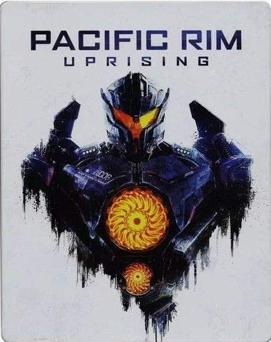 Pacific Rim Uprising STEELBOOK (Titanes del Pacífico: for sale  Delivered anywhere in USA