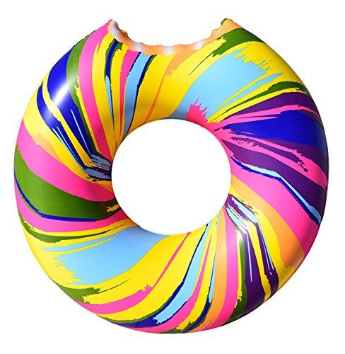 Cooluli Gigantic Rainbow Swirl Donut