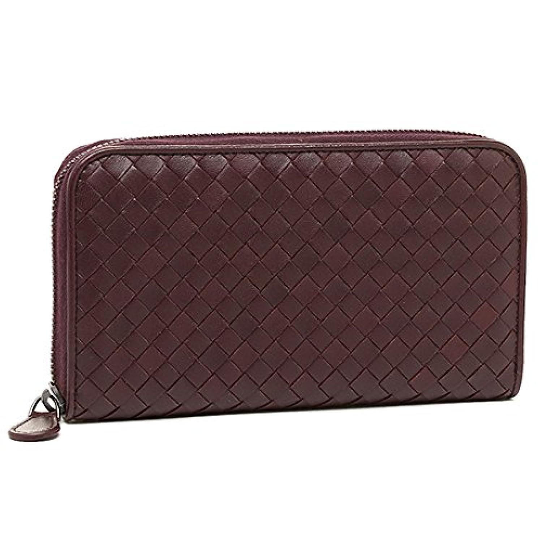 Bottega Veneta BOTTEGA VENETA wallets purse Bottega Veneta wallet BOTTEGA VENETA 114076 V001N5023 intrecciato zip around wallet AUBERGINE