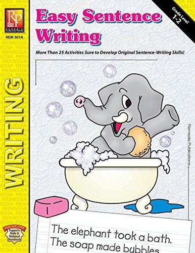 (Easy Sentence Writing | Reproducible Activity Book)