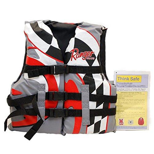 (Hydrodymanic Boat PFD Life Jacket 1693Y | Ranger Youth 50 - 90 Lbs.)