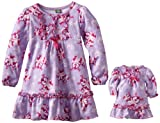 Dollie & Me Little Girls'  Penquin Print Nightgown