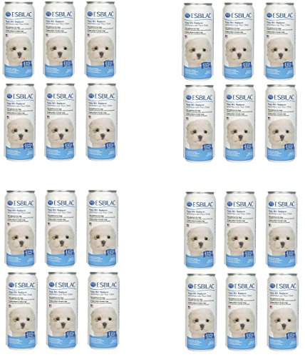 (Case of 24) Esbilac Liquid for Puppies, Milk Replacer - 11 Ounces each by Esbilac