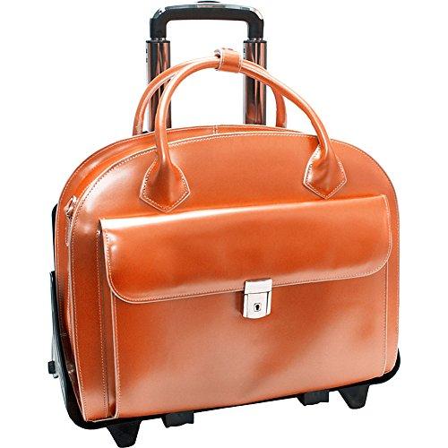 mckleinusa-glen-ellyn-94360-orange-leather-detachable-wheeled-womens-case