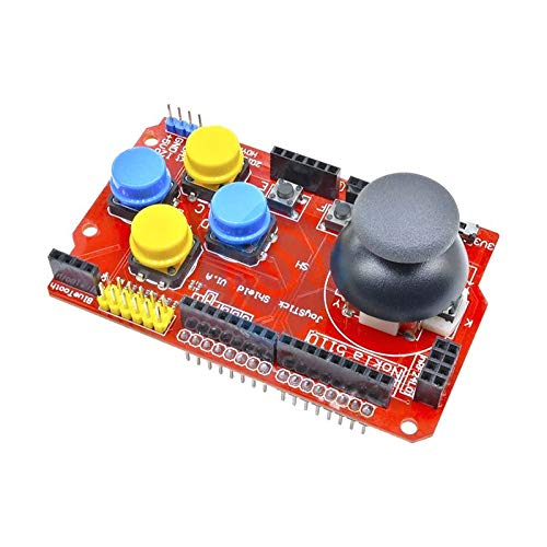 Green//Red JoyStick Keypad Shield for Arduino 2009 UNO Mega 1280 Mega 2560 US