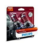 Philips 9004 X-tremeVision Upgrade Headlight Bulb with up to 100% More Vision, 2 Pack