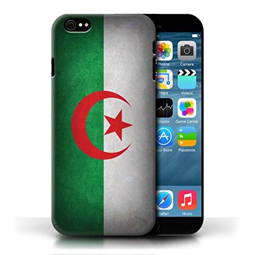 Etui / Coque pour Apple iPhone 6/6S / Algérie conception / Collection de Drapeau