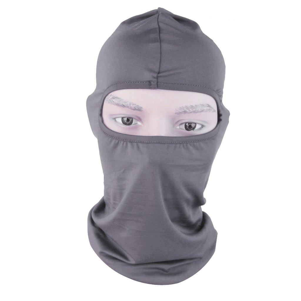 Generic Cagoule Masque Complet Chapeau Prot/ège Cou pour Cyclisme Moto Ski