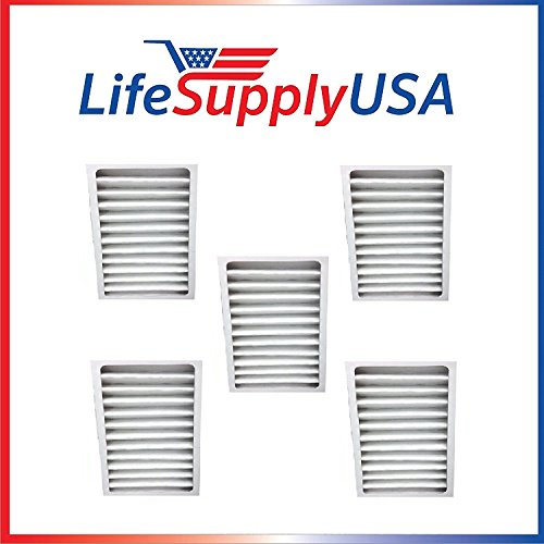 LifeSupplyUSA 5 Pack HEPA Filter fits Hunter 30963 for Air Purifier 30710, 30711, 30716, 30717 & 30730 For Sale