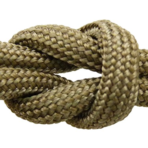 MilSpec Paracord Desert Tan 499, 310 ft. Spool, Military Survival Braided Parachute 550 Cord. Use with Paracord Tools for Tent Camping, Hiking, Hunting Ropes, Bracelets & Projects. Plus 2 eBooks. ()