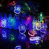 FZZ698 20 LED Lamp String Night Decor String Lights Party Home Decor Diy (multi)