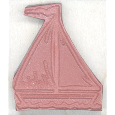 Stamps by Impression Sailboat Rubber Stamp: Arts, Crafts & Sewing