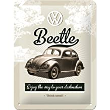 Nostalgic Art 26129 Volkswagen VW Beetle Retro Metal Sign / Poster 15 x 20 CM by Nostalgic Art
