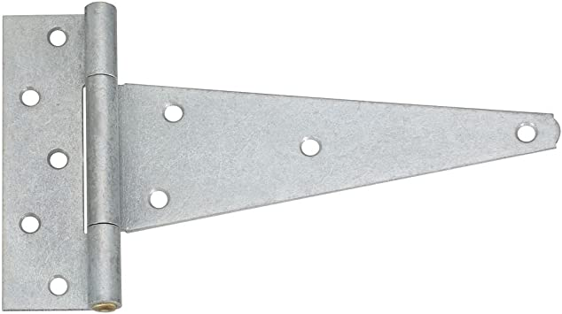 National Hardware N129-270 286BC Extra Heavy T Hinge in Galvanized