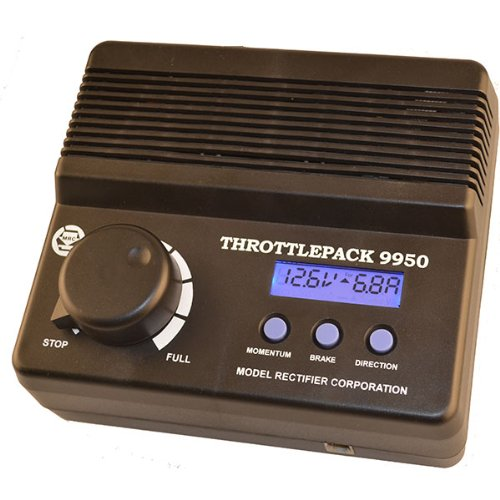 Corporation Lcd - Model Rectifier Corporation Throttlepack 9950 Train Controller with LCD