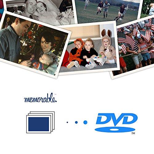 Memorable Photo Scanning Box to DVD (10 Photos)