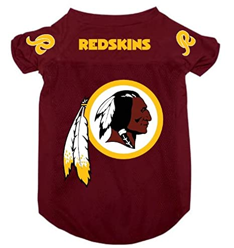 big sale f7be8 f5b20 Washington Redskins Pet Dog Football Jersey Alternate MEDIUM