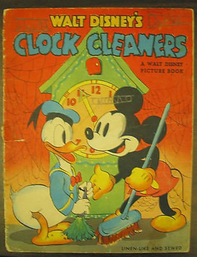 walt-disneys-clock-cleaners-picture-book-1938-vintage-mickey-mouse-d-duck