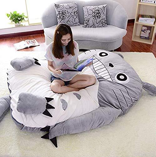 HYGLPXD Totoro Super Weich Bodenmatratze Tatami Gepolsterte Matratze, Atmungsaktive Langsam Rebound Boden Futon-matratze Futonbett Matratze Schlafsack,170 * 220cm/67.2 * 87inch