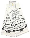 #7: Deborah Connolly French Bistro Cafe Kitchen Tea Towels