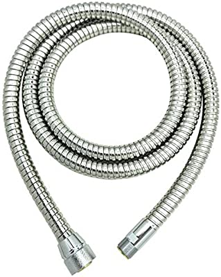 Grohe Kitchen Faucet Replacement Parts 46092000 59 Inch Pull Out Spray Replacement Hose Grohe Ladylux Replacement Parts Alira Sink Faucet Hose By Awelife Starlight Chrome Finish 59 Inch Buy Online At Best Price In