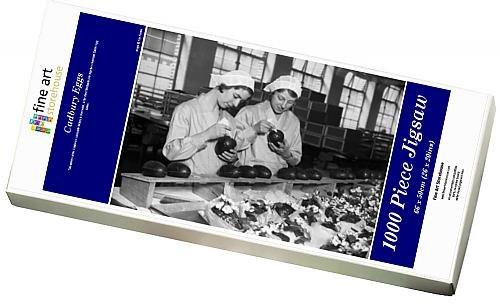 Media Eggs; Storehouse 1000 Piece Puzzle of Cadbury Eggs; Media Two Damens at the Cadbury s chocolate factory in (10700182) ea7e4e