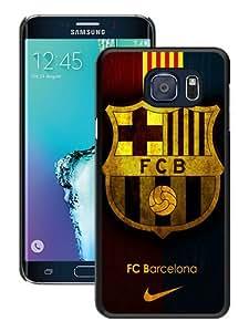 Samsung Galaxy S6 Edge Plus Case ,Fc Barcelona black Samsung Galaxy S6 Edge+ Cover Fashionable And Unique Custom Designed Phone Case