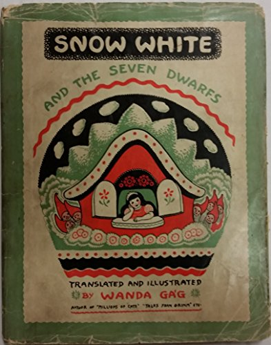 Snow White and the Seven Dwarfs by Gag, Wanda published by Coward-McCann, Inc. Hardcover