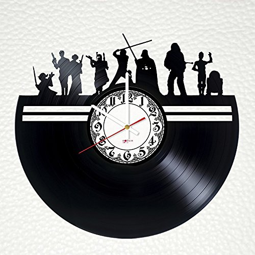 Epic Movie Handmade Vinyl Record Wall Clock - Get unique bedroom wall decor - Gift ideas for boys and girls, men and women – Unique Art Design
