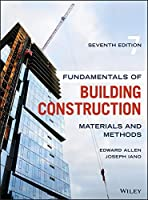 Fundamentals of Building Construction: Materials and Methods, 7th Edition Front Cover