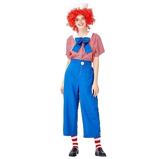 Damas de disfraces de Halloween Disfraz de payaso femenino de ...