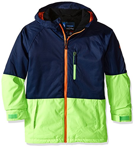 686 Boys Jinx Insulated Jacket, Midnight Blue/Clear Black...