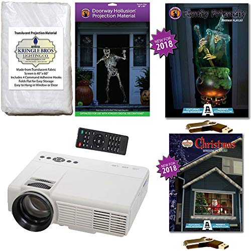 AtmosFearFx Christmas and Halloween Projector Kit Includes 800