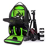 Camera Bag DSLR SLR Camera Sling Backpack Lightweight with Rain Cover for Sony Canon Nikon Pentax Olympus Camera and Other Accessories