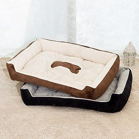 harkokoro (TM) Cozy Perros de gran tamaño cama Caseta para perro (Tamaño Grande, Pet, Cachorro, fácil de lavar, cálido y cómodo: Amazon.es: Productos para ...