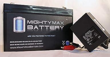 Amazon.com: 6 V 7 Ah sustituye batería Kid Trax Avigo Quad ...