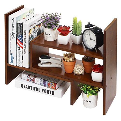 wooden tabletop organizer - 1