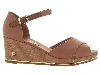 Tommy Hilfiger Women's Feminine Mid Wedge Sandal Basic Platform