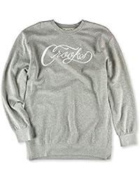 4b85b027fa75f Crooks and Castles Men s Scripted Crewneck Sweatshirt