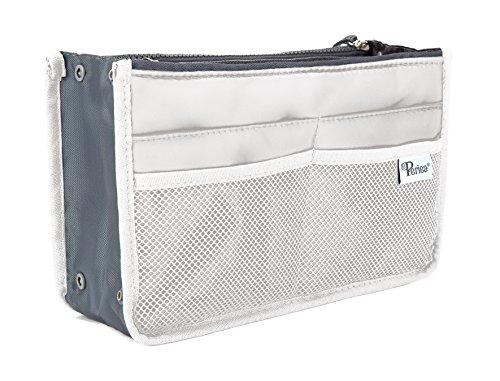 Periea Handbag Organizer - Chelsy (Medium, White)