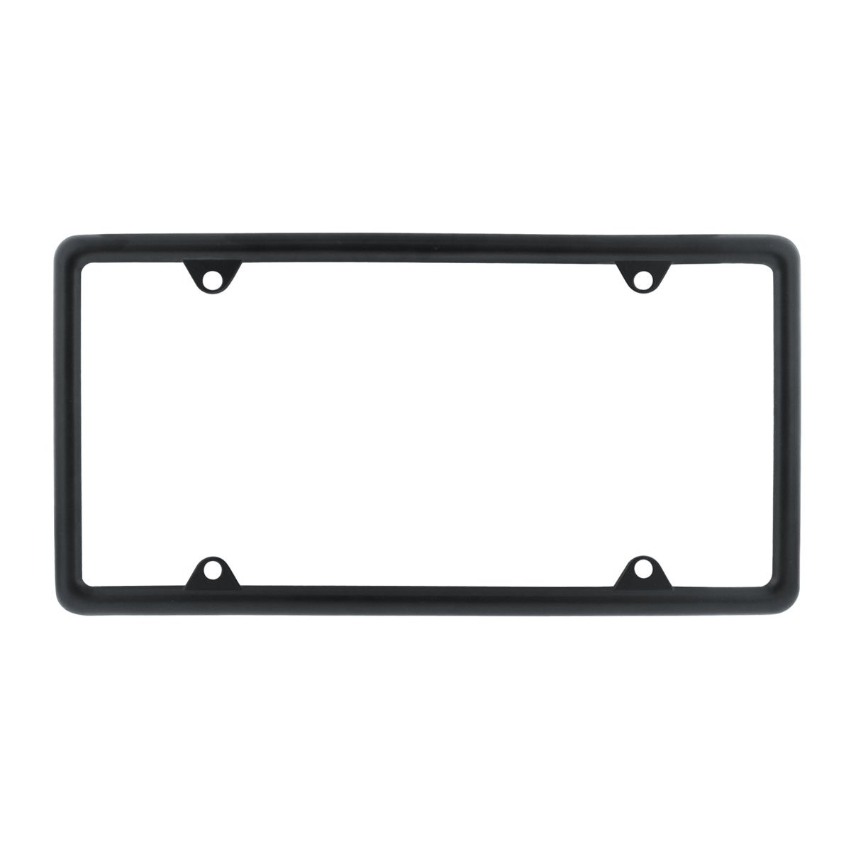 United Pacific 50004 Black License Plate Frame