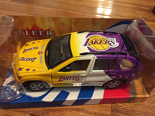 1 24 Fleer Lakers Nba Bmw X5 Die Cast Car Nba Com