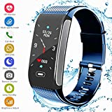 Fitness Tracker HR, Activity Smart Bracelet Wristband with Pedometer Heart Rate Monitor Step