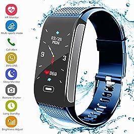 Fitness Tracker Activity Smart Bracelet Wristband with Pedom...