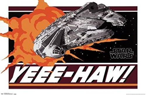 Star Wars   Yeee Haw Poster Print  34 X 22
