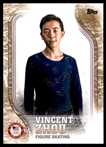 2018 Topps U.S. Olympic Team Bronze #USA18 Vincent Zhou